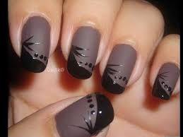 Resultado de imagen para manicure diseños para uñas cortas faciles