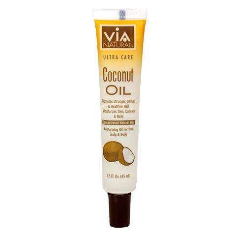 Via Natural Ultra Care Coconut Oil 1 5 Oz Bottles Coconut Oil Skin Care Coconut Oil For Skin Anti Aging Oils