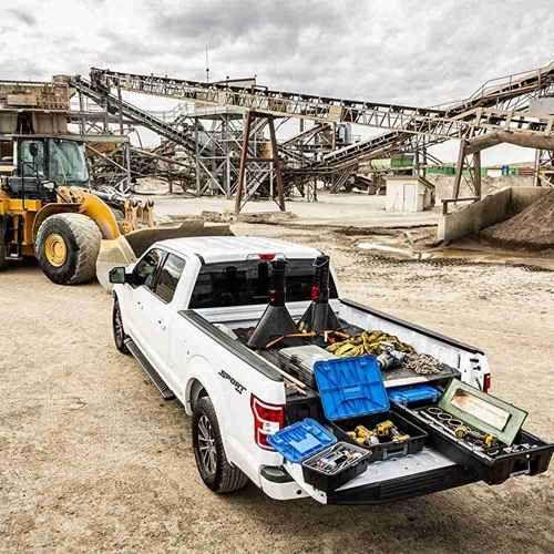 Decked Pickup Truck Storage System Truck Bed Organization Truck Storage Truck Bed