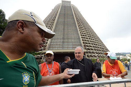 Confraternização e Almoço com a População de Rua, na Catedral Metropolitana