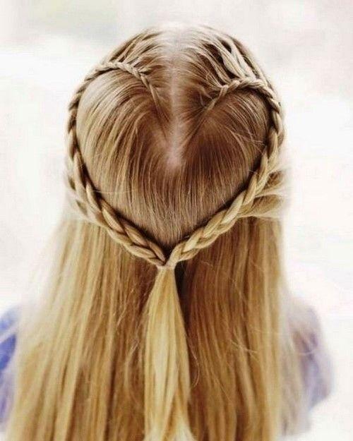 The Most Beautiful Hairstyles For Girls Photo Ideas And Tips For Moms All Lady S Here Geflochtene Frisuren Flechtfrisuren Coole Frisuren