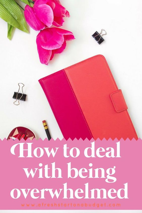 How to deal with being overwhelmed. When life is chaotic and stressful it can…