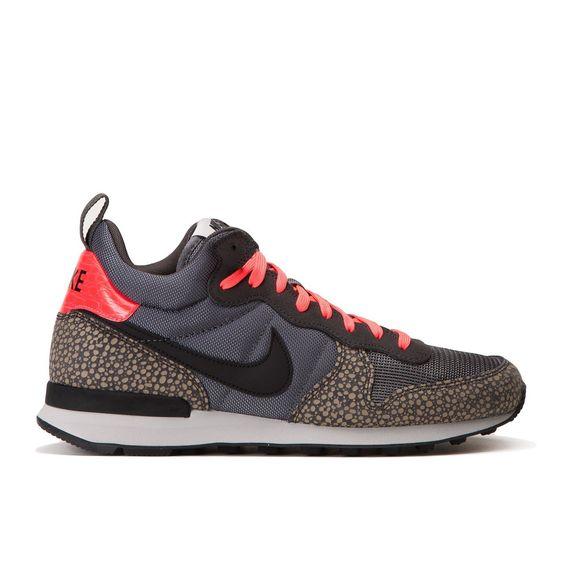 Online Sale-Outlet - Dames Schoenen - Nike Internationalist Mid PRM Bamboo Safari - Koele Grijs/Bamboe/Zwart/Hyper Karmozijnrode/Wit - 682843-002 ...