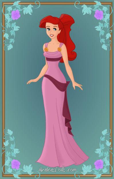 Azalea's Dolls ariel | Ariel as Meg by Heroine-FA-C-n-Xover: