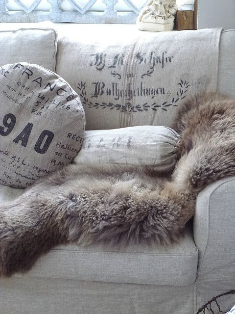 On Living Room Inspiration Pinterest Shabby Chic Blankets And Fur