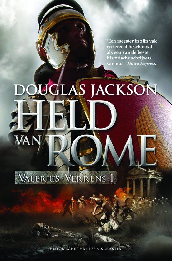 Valerius Verrens I Held Van Rome Douglas Jackson Thrillers Jackson Rome