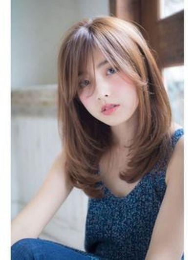 Korean Hairstyle Women Google Search Potongan Rambut Sedang Potongan Rambut Panjang Gaya Rambut