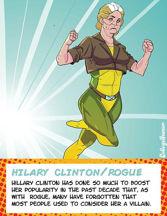If U.S. Politicians Were The X-Men