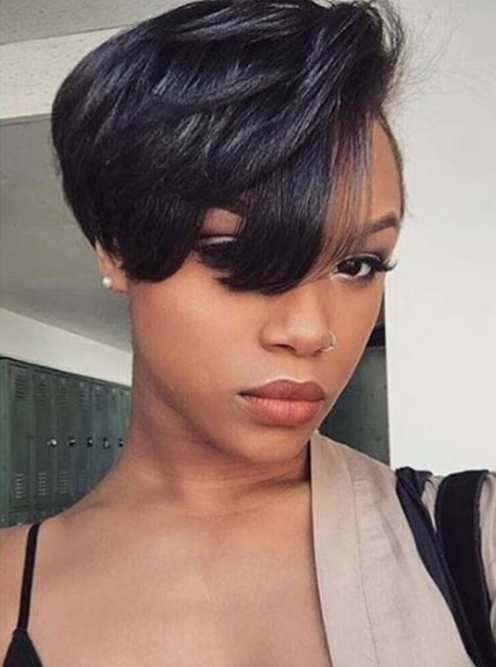 Short Weave Hairstyles For Black Women Short Hair Styles Short Weave Hairstyles Hair Styles