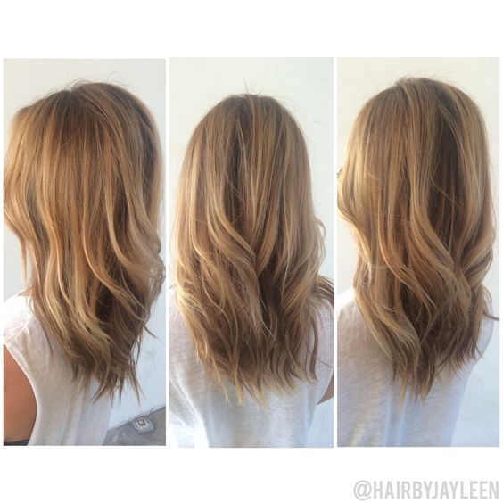 Light warm blonde balayage light brown hair natural for Warm light brown paint color