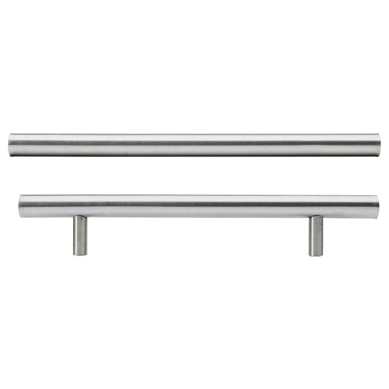 LANSA stainless steel kitchen cabinet handles from Ikea, comes in a selection of lengths