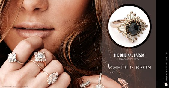 Heidi Gibson Featured Ring Gatsby Ring