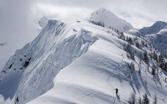 beautiful snow mountain hd - photo #18