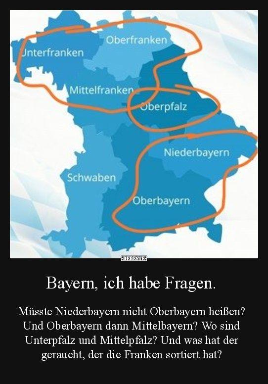 Bayern Ich Habe Fragen Witzige Bilder Spruche Gute Frage Und