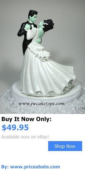 Wedding Cakes Toppers: Frankenstein Halloween Wedding Cake Topper Bride 48Mb BUY IT NOW ONLY: $49.95 #priceabateWeddingCakesToppers OR #priceabate