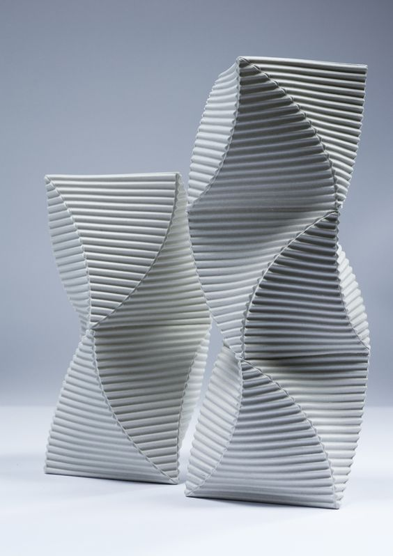 Keith Varney, 'Helix' porcelain sculpture