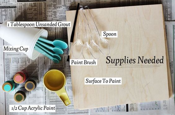 make your own chalkboard in any colour!