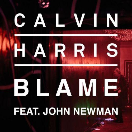 Calvin Harris, John Newman – Blame (single cover art)