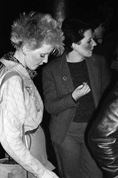 Derek Ridgers, The Roxy, London, 1977.