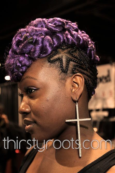 Tremendous Thirsty Roots Black Hair The Bold The Braids Pinterest Short Hairstyles For Black Women Fulllsitofus