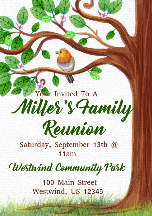 Family Reunion Flyers Templates Family Reunion Template Flyer Template Family Reunion Flyer