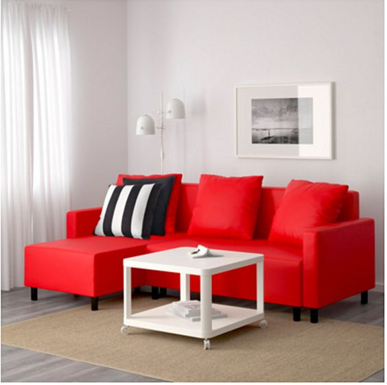 Sofa Bed Red