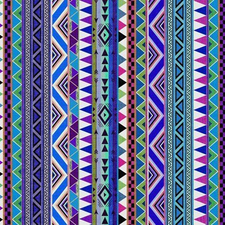 Amazon Com 3drose Qs 107318 4 Tribal Print Pattern