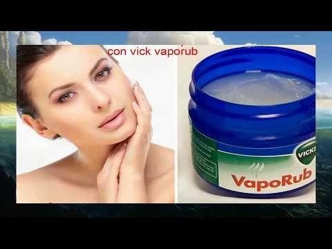 Adelgazar con vick vaporub y alcanfor