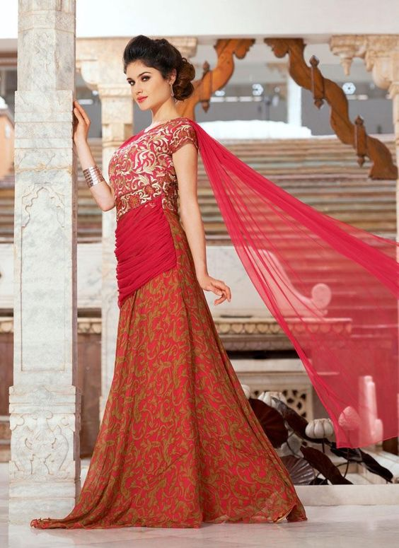 Exclusive Range of Red Color #Gowns Online on Godomart Shopping Store! Shop Now!! http://www.godomart.com/dresses-suits/gown/filter/color/red.html