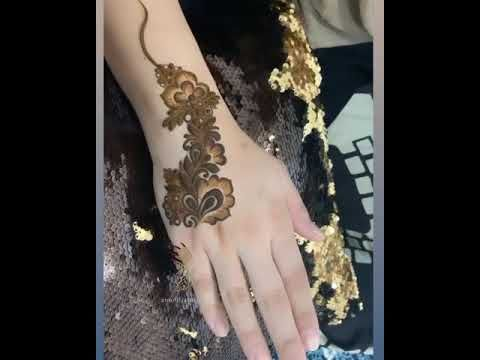 فن الرسم بالحناء Youtube Henna Designs Hand Hand Henna Henna Hand Tattoo