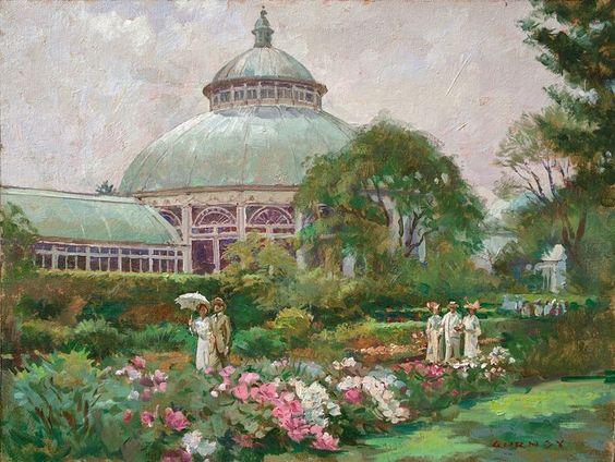 В Нью-Йорке ботаники «оживили» сады с полотен импрессионистов: