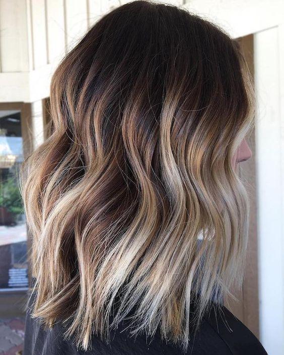 1001 Ideen Und Bilder Zum Thema Strahnchen Selber Machen In 2020 Ombre Haare Farben Balayage Frisur Haarfarben