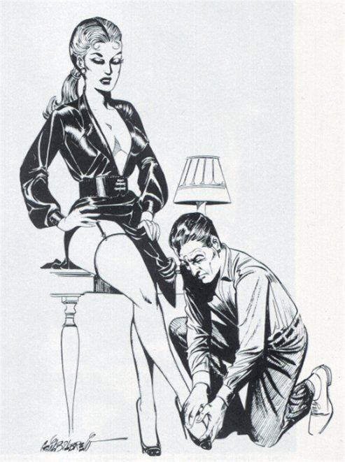 Art illustrations femdom