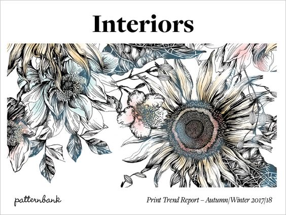 Patternbank are excited tointroduce our latest trend tool that focuses on Interiors and Home Print Trends for Autumn/Winter 2017/18.