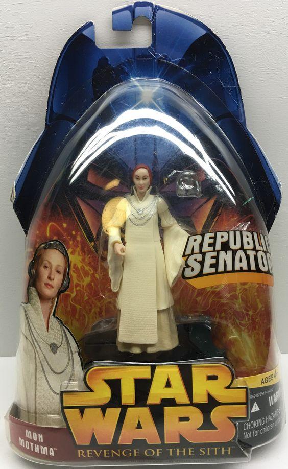(TAS032856) - 2005 Hasbro Star Wars Revenge Of The Sith - Senator Mon Mothma