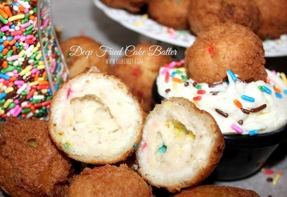 Bolitas de pastel