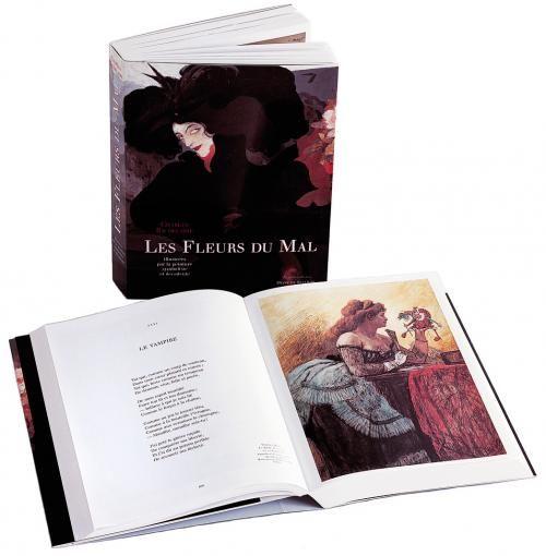 Les Fleurs du Mal de Baudelaire illustrées par la peinture symboliste et décadente