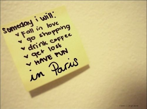 someday...in paris