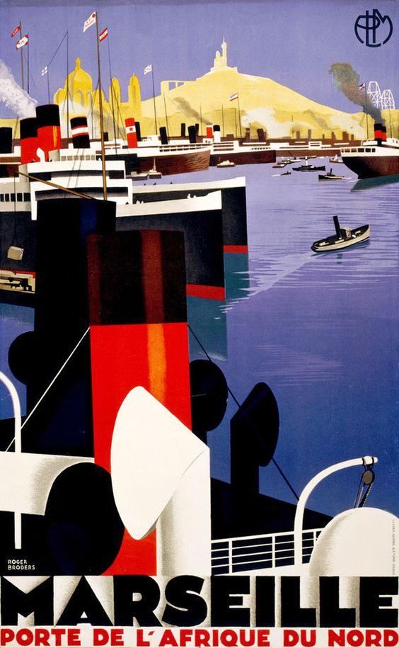 Vintage Posters: Marseille 1931