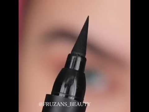 طريقة رسم الايلاينر للمبتدئات Youtube Makeup Brushes Guide Brush Guide Makeup Brushes