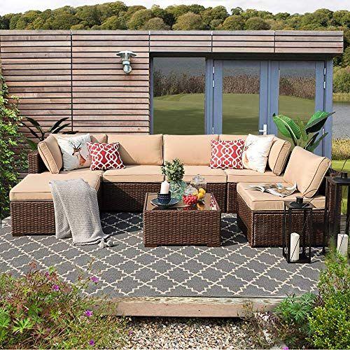 Patiorama 7pc Outdoor Patio Furniture