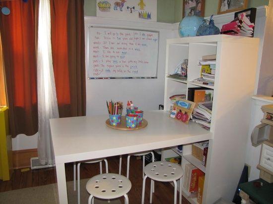 homeschool room ideas | Homeschool Room Ideas / homeschool room set up - Google Images