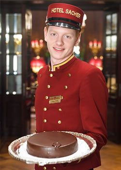 Sacher Restaurants Vienna : Dining at Hotel Sacher : Gourmet Restaurant Austria. An irresistible combination.