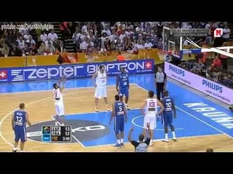 Campeones de Europa 2011  Spain: 98 France: 85
