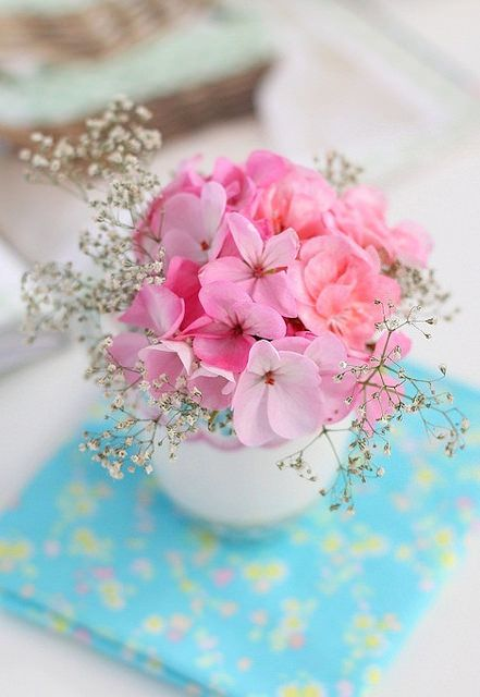 pink flower by cafe noHut, via Flickr