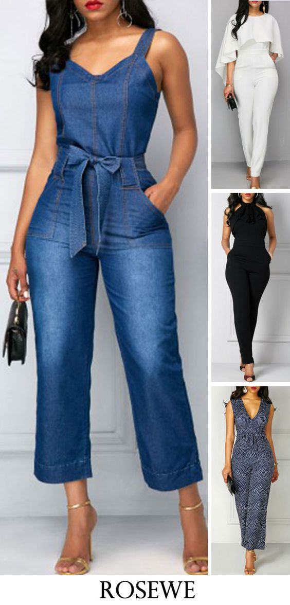 Cute jumpsuits for women at Roewe.com, free shipping worldwide, street styles and better service, check them out.