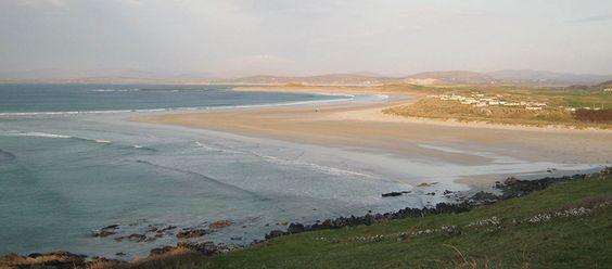 Playa Naran, una playa Bandera Azul en Donegal - http://www.absolutirlanda.com/playa-naran-una-playa-bandera-azul-en-donegal/