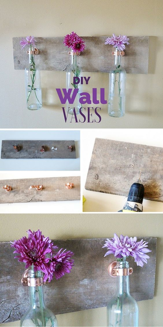 Check out the tutorial: #DIY Wall Vases @istandarddesign