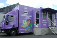 Book the listening buss to come to your school in the UK