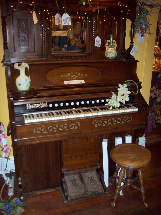 Pump Organ Stools And Brother On Pinterest
